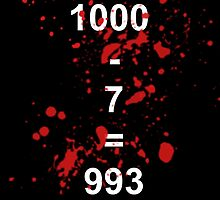 Countdown from 1000 in 7s by Rinkeii