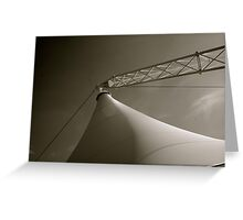 Crown Center Tent Greeting Card