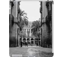 Barcelona - Urban Scene iPad Case/Skin