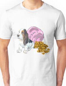 Baet hound spilled the cookies Unisex T-Shirt