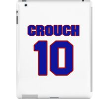 National baseball player Jack Crouch jersey 10 iPad Case/Skin