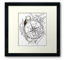 WindRose Framed Print