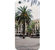 Barcelona - Urban Scene iPhone Case/Skin
