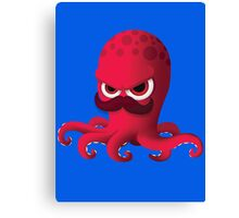"Bubble Heroes - Boris the Octopus ""Solo"" Edition Canvas Print"