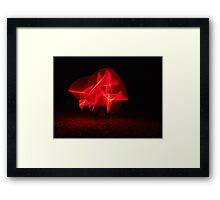 May the Force.. 3 Framed Print