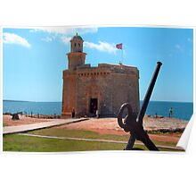 Castell Sant Nicolas Poster