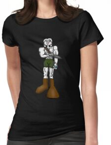 Rambo Bunny Womens Fitted T-Shirt