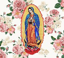 Virgin of Guadalupe by robotface
