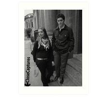 Couple portrait0 Art Print