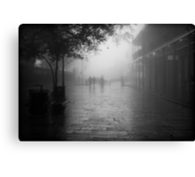 New Orleans in B&W Canvas Print