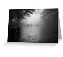 New Orleans in B&W Greeting Card