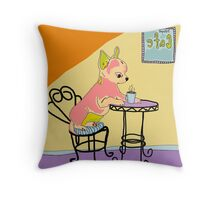 My Little Belle Throw Pillow