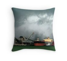 Moments before the storm... Throw Pillow