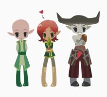 Dragon Age - Solas, Inquisitor, Iron Bull [Commission] Kids Clothes