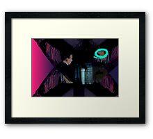 T thief Framed Print