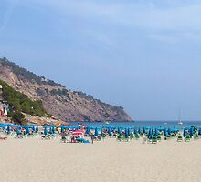 Cala Llonga Beach II by Tom Gomez
