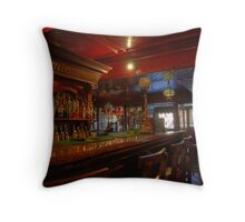 Tynans Bridge House Bar Interior  - Old Pub in Kilkenny City (3) Throw Pillow