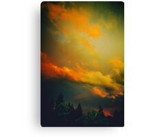 Bend Oregon: sunset Canvas Print