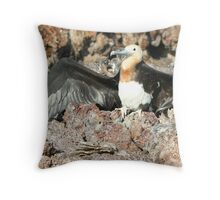 With Open....Wings? Throw Pillow
