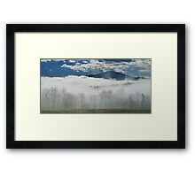 Blanket of Clouds Framed Print
