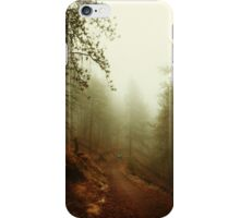 Autumn in Ponderosa Pines Forest iPhone Case/Skin