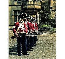 Holding the thin red line Photographic Print