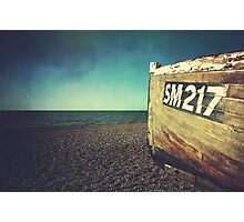 Weathered Boat Photographic Print