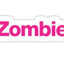 Zombie. Sticker