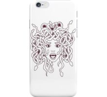 Foolish Medusa (B&W) iPhone Case/Skin
