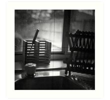 TTV 1 - Looking out Art Print