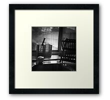 TTV 1 - Looking out Framed Print