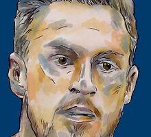 Aaron 'Rambo' Ramsey by ArsenalArtz