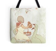 Swan Tea Party Tote Bag