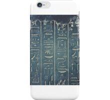 Hieroglyphs iPhone Case/Skin