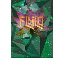 Flying Lotus Flower Photographic Print