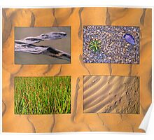 Northern Promontory Textures Poster
