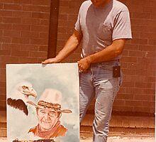 John Wayne and My Friend by dummy