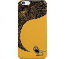 Heart of a Lion iPhone Case/Skin