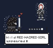 Wild RED HAIRED GIRL appeared! Kids Clothes