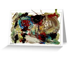 untitled 2007 19x13 in Greeting Card