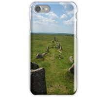 Ancient Stone Row iPhone Case/Skin