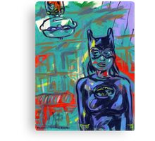 Super Hero Duo Canvas Print