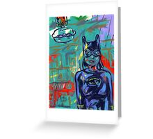 Super Hero Duo Greeting Card