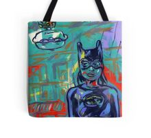 Super Hero Duo Tote Bag