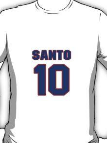 National baseball player Ron Santo jersey 10 T-Shirt