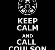 Keep calm and call coulson by TheGamerbo