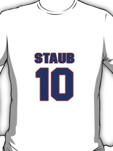 National baseball player Rusty Staub jersey 10 T-Shirt