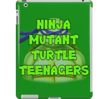 Ninja Mutant Turtle Teenagers Donatello iPad Case/Skin