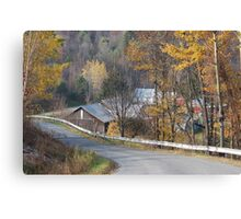 Rural Road 2 Canvas Print