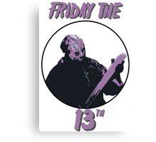 Jason Friday The 13th Canvas Print